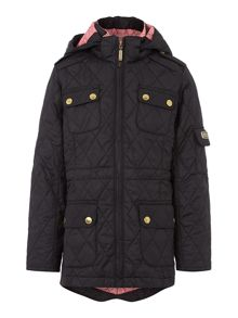 Helina hooded quilted jacket