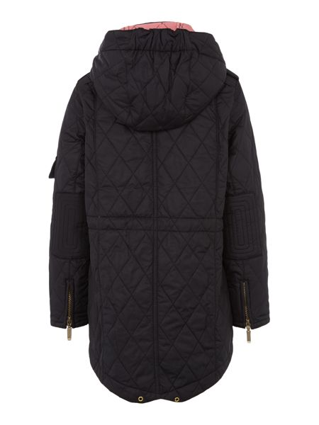 Barbour Helina hooded quilted jacket