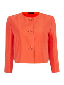 Verve cropped bolero jacket