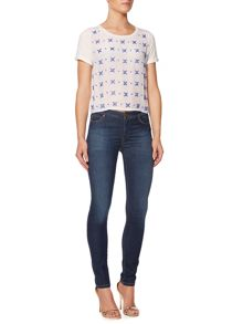 Rossana tee with embellished front