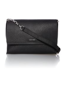 Sofie black small chain cross body bag