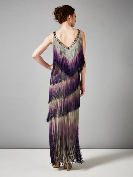 Phase Eight Tina fringe dress