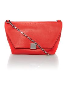 Kate red flap over cross body bag
