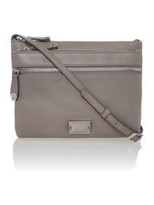 Dashwood grey cross body bag