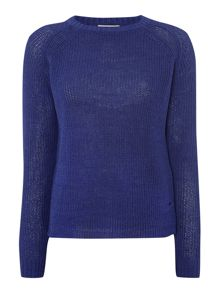 Calvin Klein Sabine longsleeve round neck mini cable knit