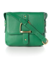 Cranleigh green small cross body bag