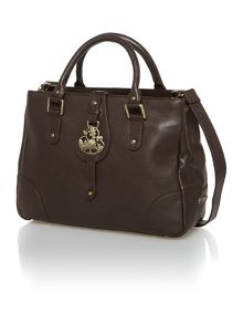 Thursley brown medium tote bag