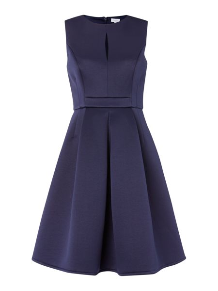 Untold Sleevless keyhole fit and flare dress