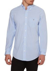Gingham Poplin Long Sleeve Shirt