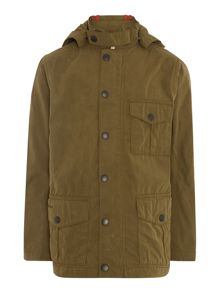 Minder 3 pocket hooded jacket