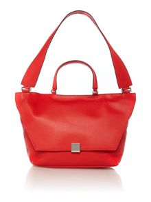 Kate red medium shoulder bag