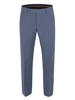 Plain Weave Tailored Fit Trouser