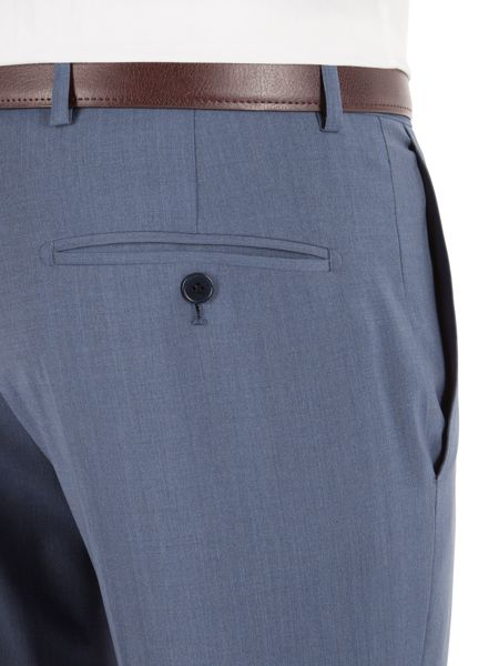 Alexandre of England Plain Weave Tailored Fit Trouser