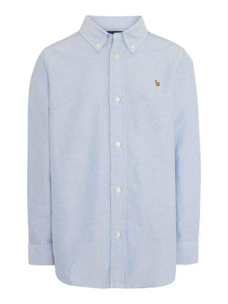 Polo Ralph Lauren Boys Button Down Oxford Small Pony Shirt