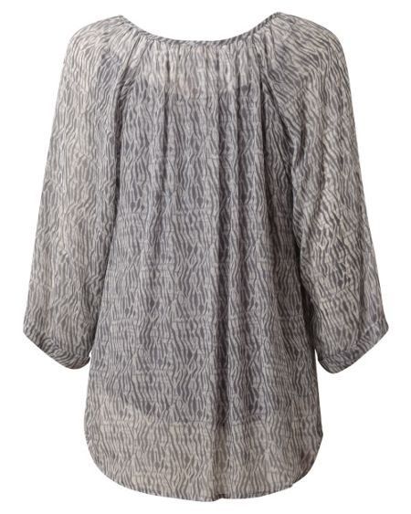 East Shibori Pleat Blouse