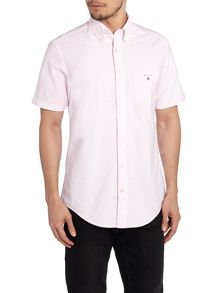 Plain Oxford Classic Fit Short Sleeve Shirt