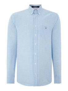 Gingham Classic Fit Long Sleeve Button Down Shirt