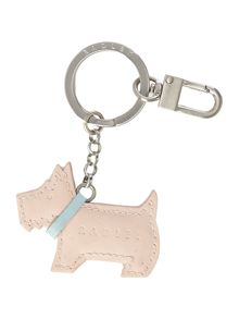 Go walkies light pink keyring