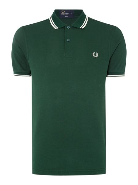 Fred Perry Plain Slim Fit Polo Shirt