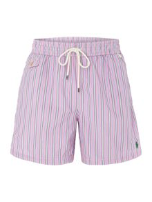 Stripe Swimming Trunks