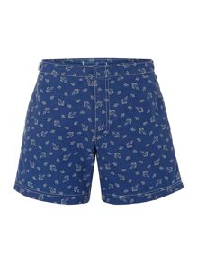 Polo Ralph Lauren Fixed Waistband Anchor Print Swimming Shorts