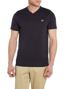 Fred Perry Plain V Neck Regular Fit T-Shirt