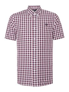 Pastel Gingham Classic Fit Short Sleeve Shirt