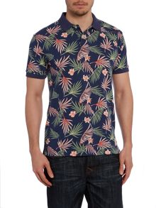 Floral Regular Fit Polo Shirt