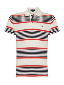 Striped Regular Fit Polo Shirt
