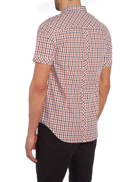 Merc Check Classic Fit Short Sleeve Shirt