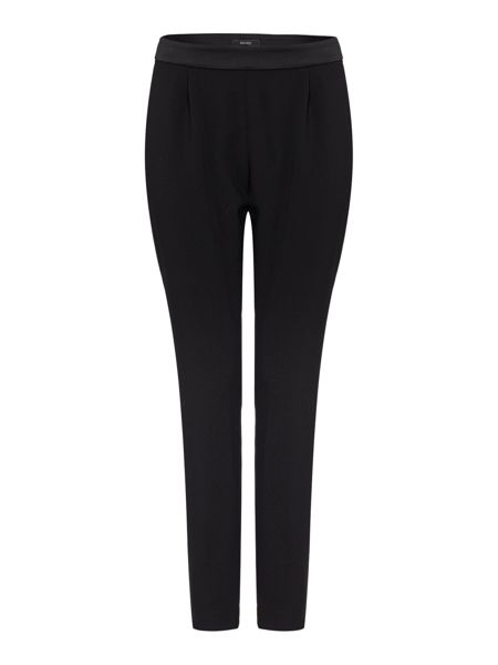 Therapy Soft tailored satin waistband trousers