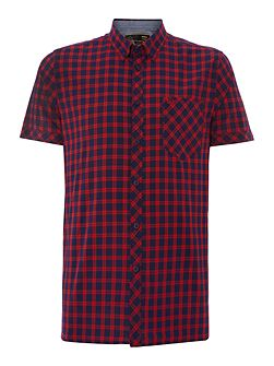 Gingham Classic Fit Short Sleeve Vilano Shirt