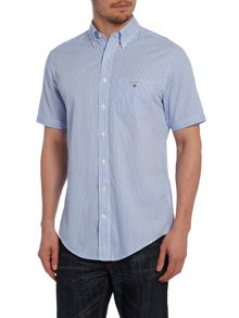 Stripe Classic Fit Short Sleeve Shirt