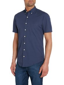 Plain Classic Fit Short Sleeve Shirt