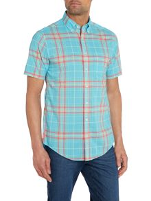 Summer Check Classic Fit Short Sleeve Shirt