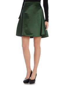 Acne A-line satin skirt