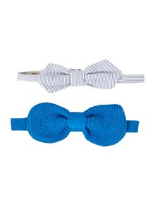Boys pack of two bow ties