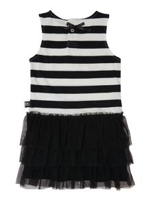 Baby girls striped sleeveless dress