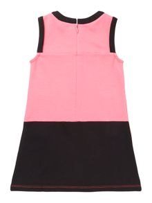 Baby girls interlock sleeveless dress