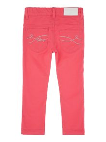 Girls slim fit trousers