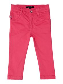 Baby girls slim fit trousers
