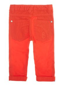 Baby boys slim fit trousers