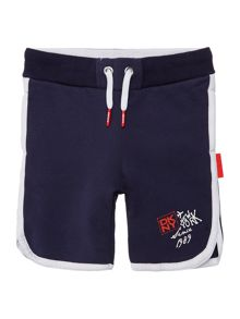 Boys fleece cotton bermuda shorts