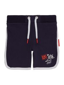 Baby boys fleece cotton bermuda shorts