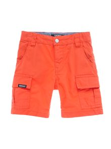 Boys cotton gabardine shorts