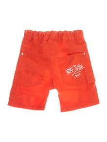 Baby boys cotton gabardine shorts