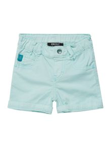 Baby girls cotton gabardine shorts