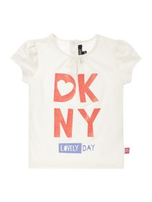 Baby girls jersey short sleeved t-shirt