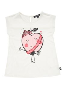 Girls short sleeved blouse