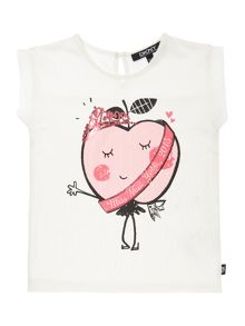 Baby girls short sleeved blouse